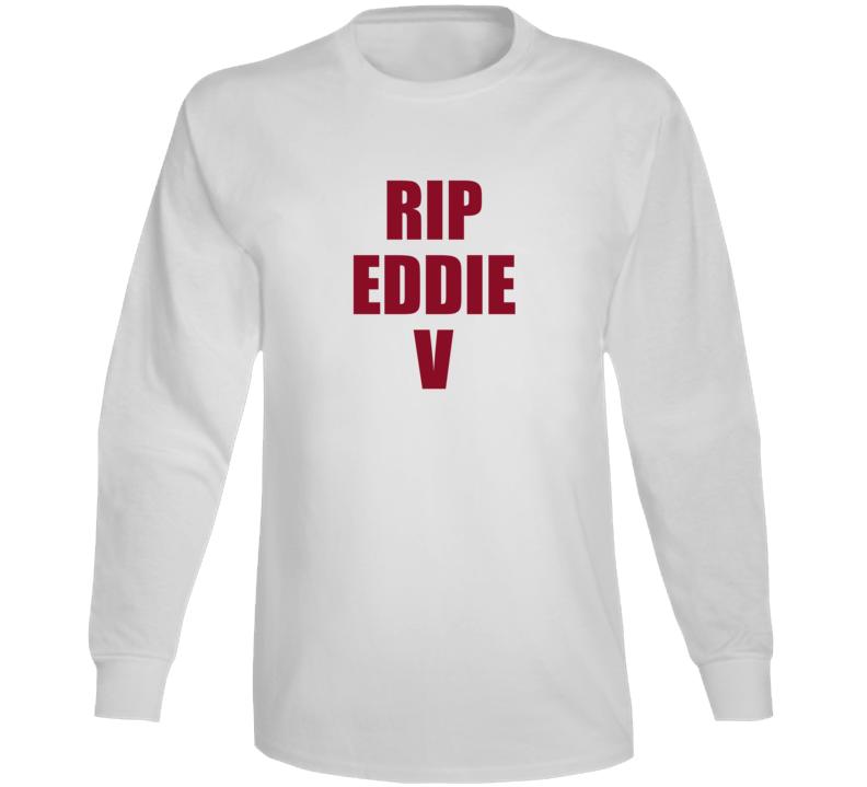 Rip Eddie Van Halen Long Sleeve T Shirt