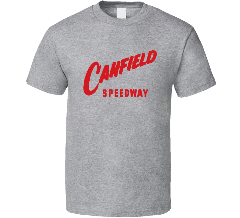 Canfield Speedway Racing Enthusiasts T Shirt
