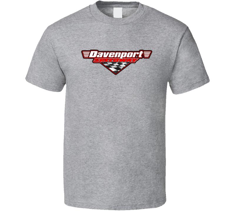 Davenport Speedway Racing Enthusiasts T Shirt