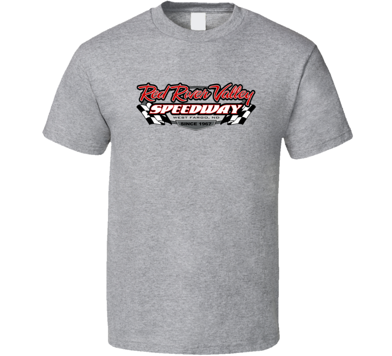 Red River Valley Speedway Racing Enthusiasts T Shirt