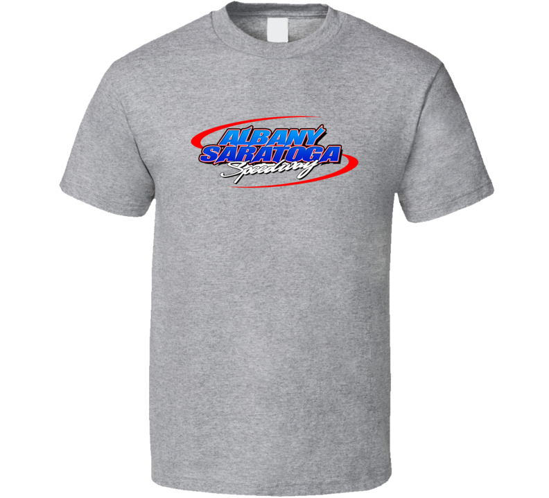 Albany-saratoga Speedway Racing Enthusiasts T Shirt