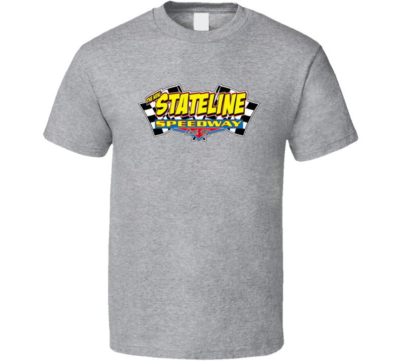 State Line Speedway Racing Enthusiasts T Shirt