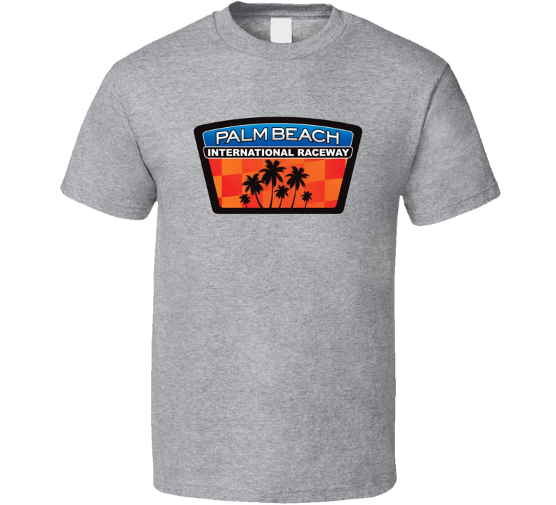 Palm Beach International Raceway Racing Enthusiasts T Shirt