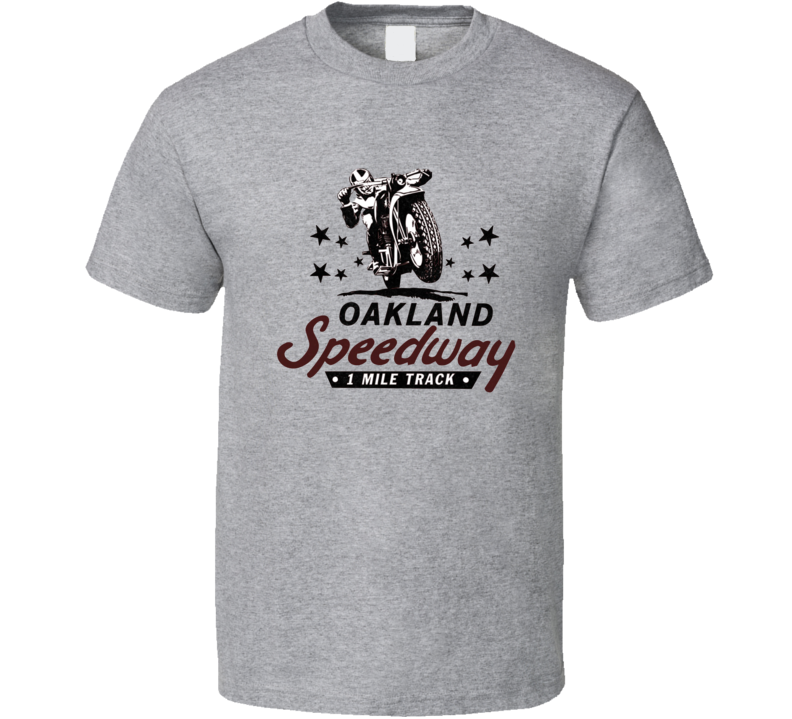 Oakland Speedway Racing Enthusiasts T Shirt