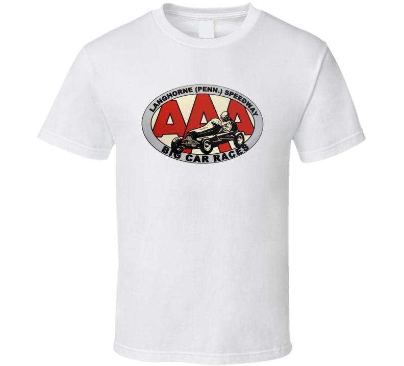 Langhorne Speedway Racing Enthusiasts T Shirt