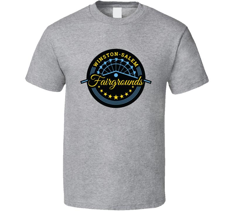 Winston Salem Fairgrounds Racing Enthusiasts T Shirt