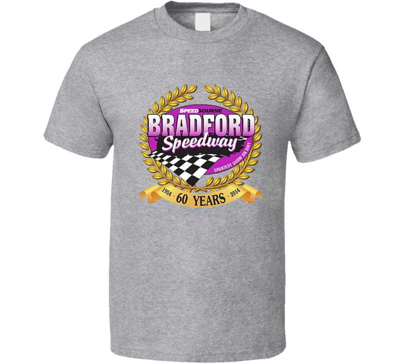 Bradford Speedway Racing Enthusiasts T Shirt