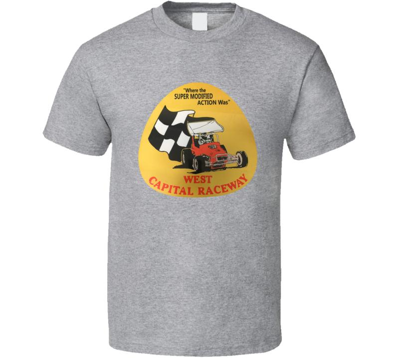 West Capital Raceway Racing Enthusiasts T Shirt