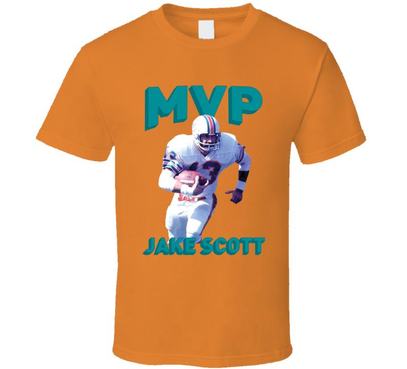 Jake Scott Mvp Miami Football T Shirt