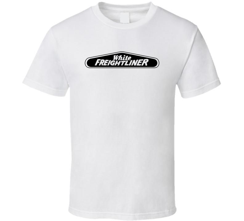 White-freightliner American Truck Manufacturer T Shirt