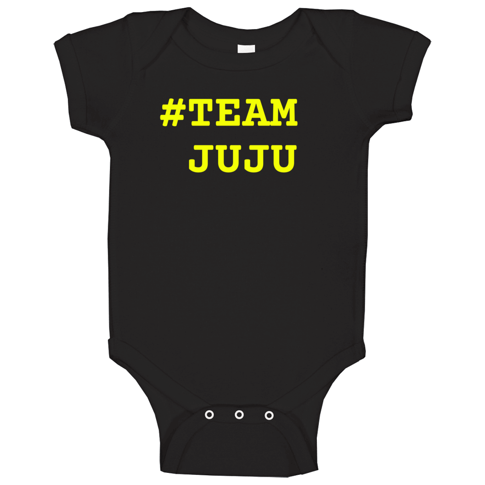 Team Juju Smith Schuster Pittsburgh Baby One Piece
