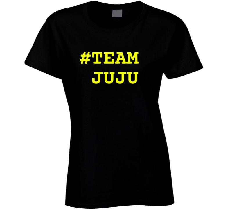 Team Juju Smith Schuster Pittsburgh Ladies T Shirt