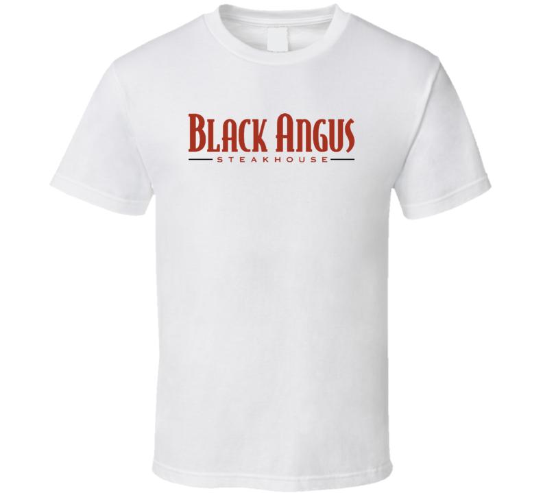 Black Angus Steakhouse Popular American Steakhouse T Shirt