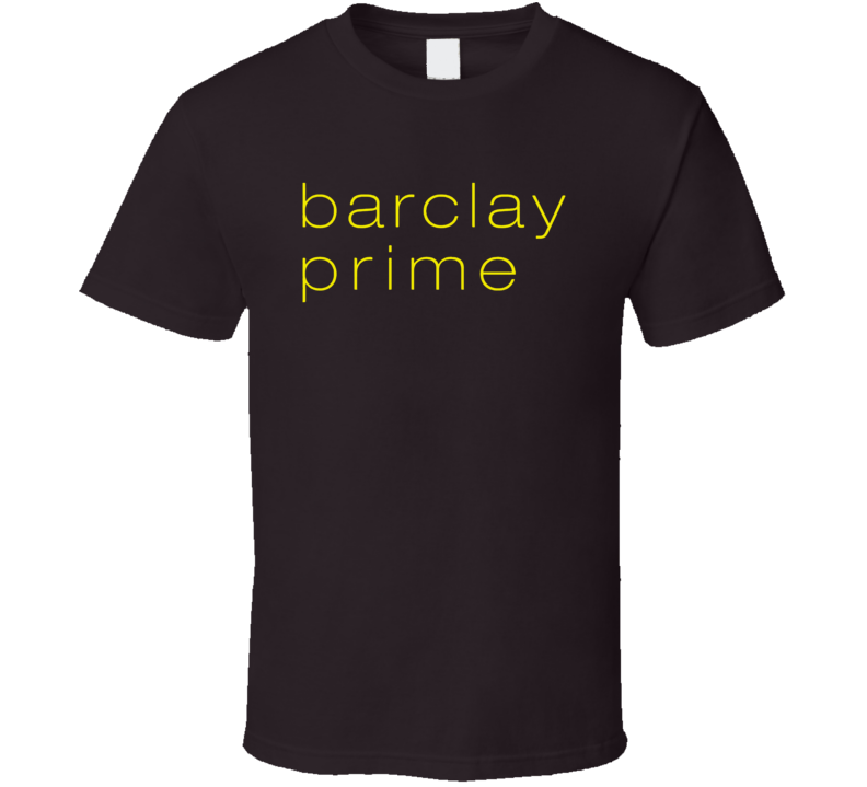 Barcley Prime Philadelphia Popular Steakhouse T Shirt