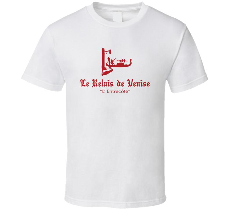 Relais De Venise Popular American Steakhouse T Shirt