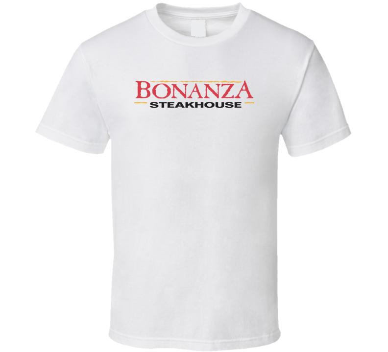 Bonanza Steakhouse Popular American Steakhouse T Shirt