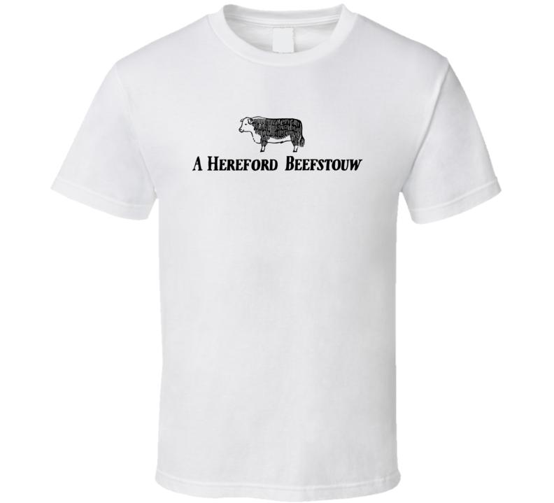 A Hereford Beefstouw Scandinavia Popular Steakhouse T Shirt