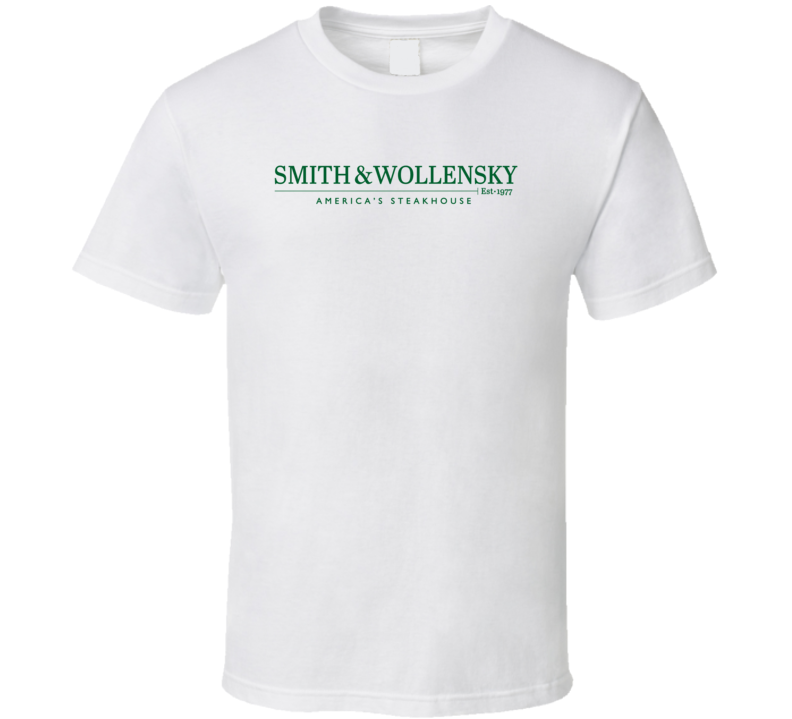 Smith And Wollensky Popular American Steakhouse T Shirt