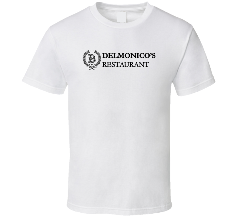 Delmonico's Popular New York City Steakhouse T Shirt