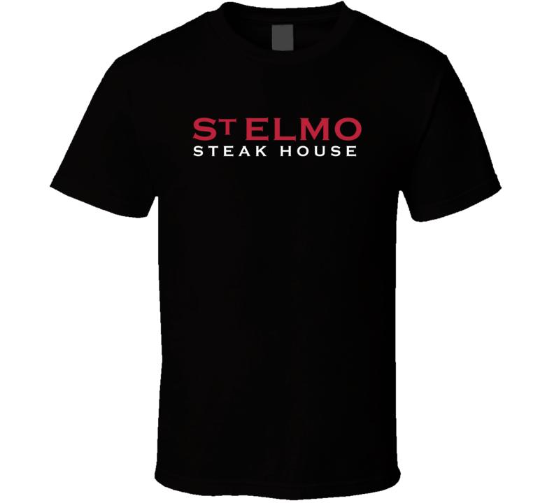 St Elmo Steak House Popular Indianapolis Indiana Steakhouse T Shirt