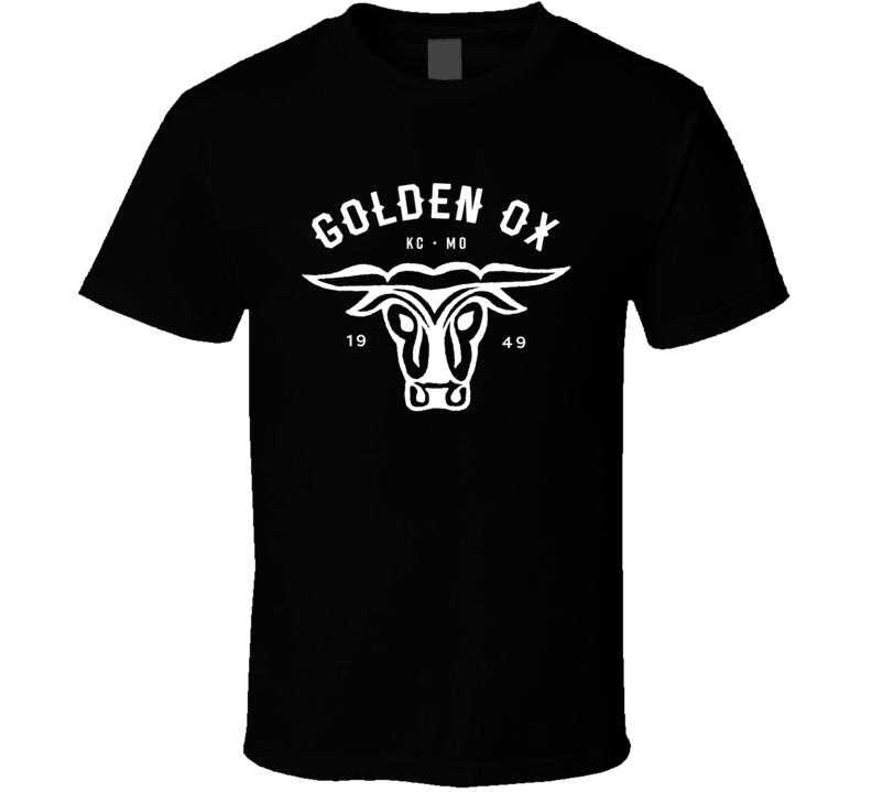 Golden Ox Kansas City Missouri Popular American Steakhouse T Shirt