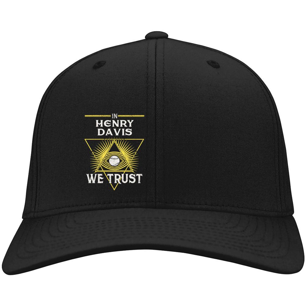 In Henry Davis We Trust Pittsburgh Baseball Hat