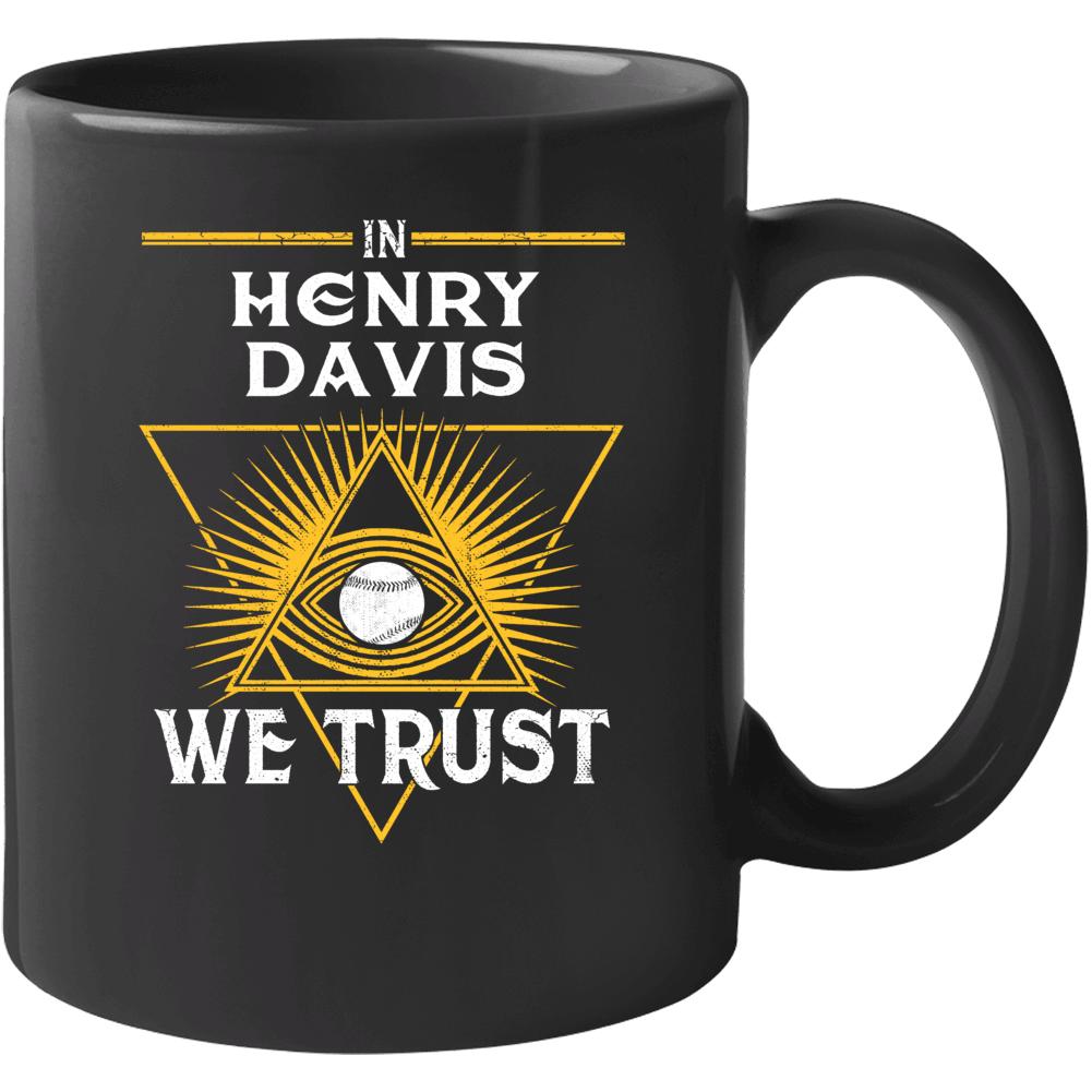 In Henry Davis We Trust Pittsburgh Baseball Mug