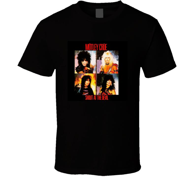 Motley Crue Shout At The Devil Music Lover T Shirt