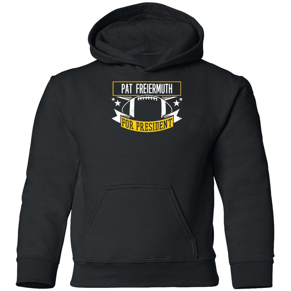 Pat Freiermuth For President Pittsburgh Youth Hoodie