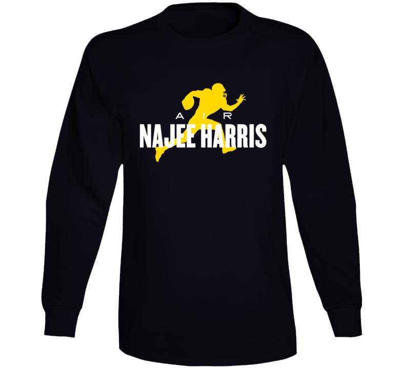 Pittsburgh Air Najee Harris Long Sleeve T Shirt