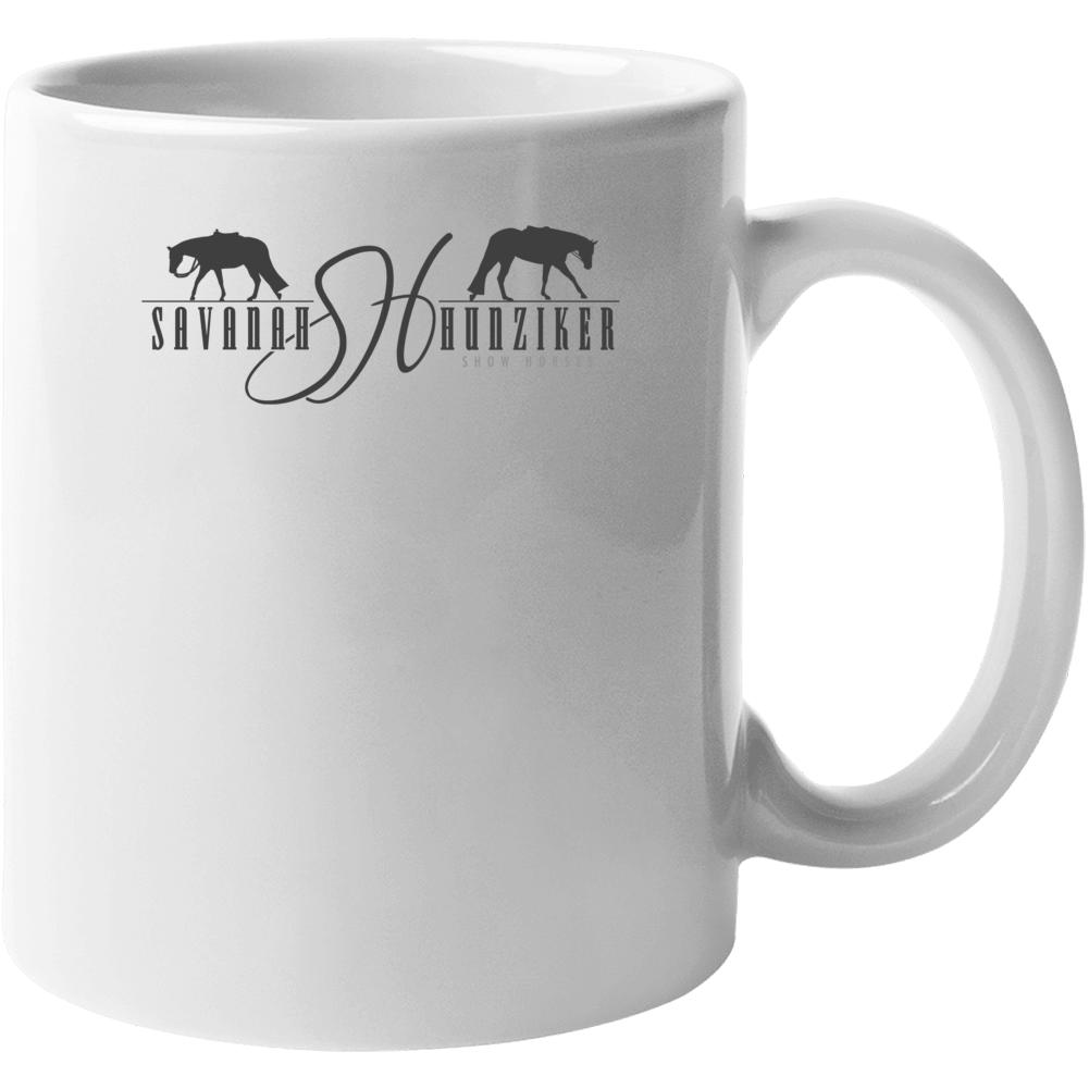 Savanah Hunziker Show Horses Logo Coffee Mug Mug