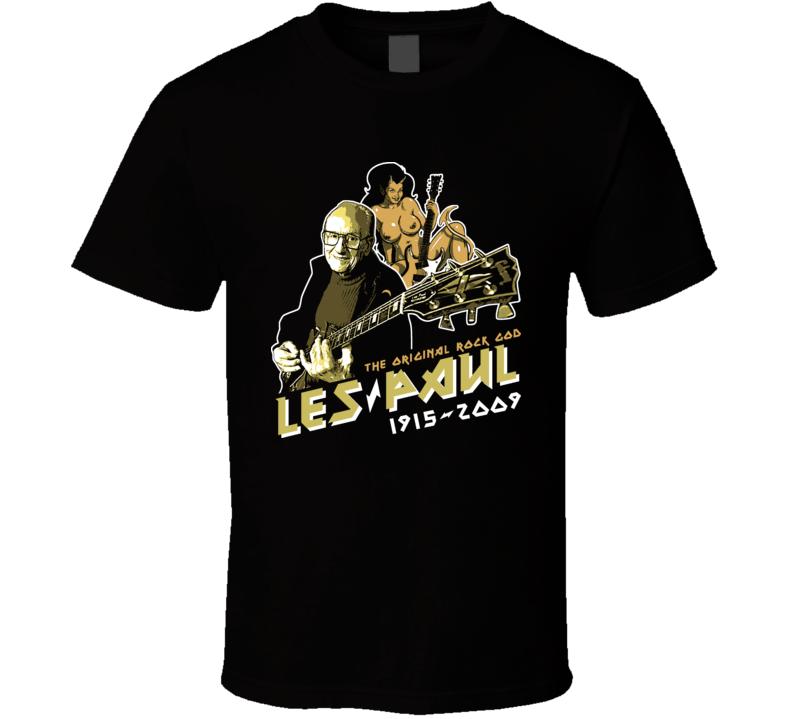 Les Paul Electric Guitar Legend T Shirt
