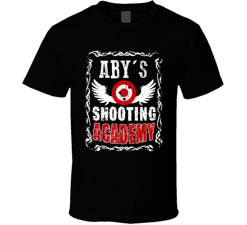 Aby Shooting Academy Gun Range Firearm T Shirt