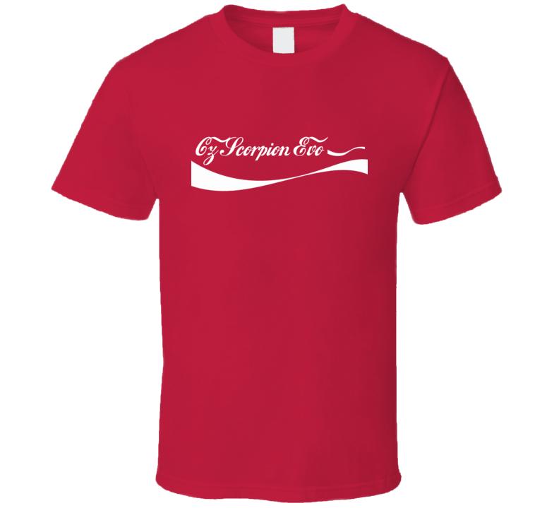 Cz Scorpion Evo 3 Cola Parody Gun T Shirt