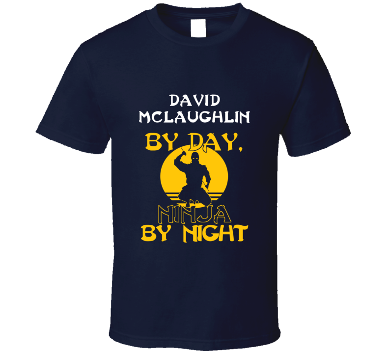 David Mclaughlin By Day Martial Arts Hall Of Fame T Shirt
