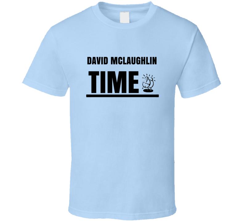 David Mclaughlin Time Martial Arts Hall Of Fame T Shirt