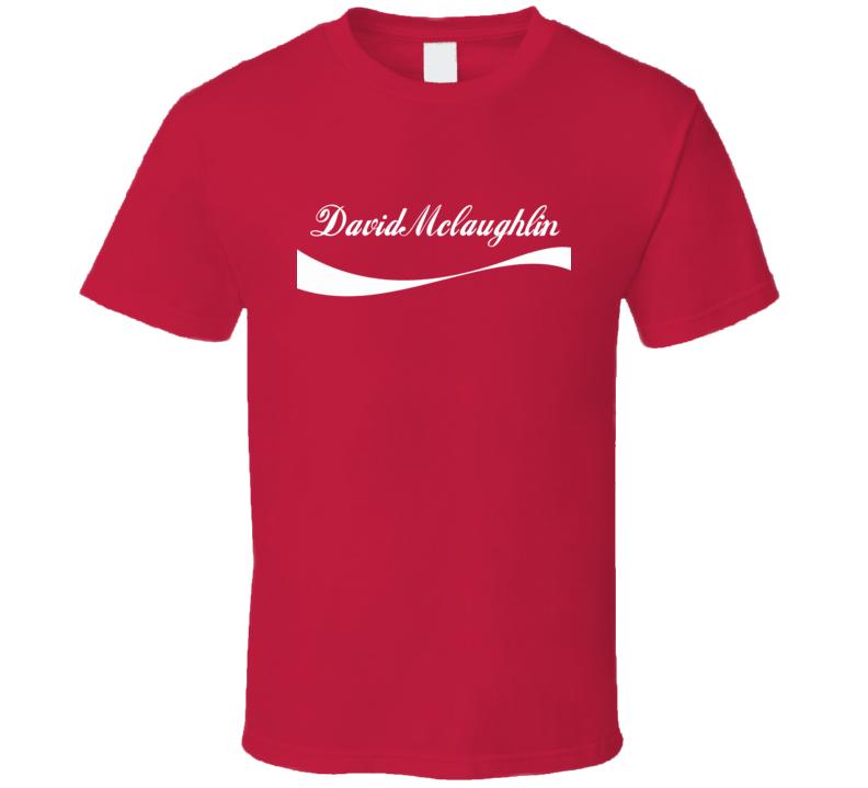 David Mclaughlin Cola Parody Martial Arts Hall Of Fame T Shirts