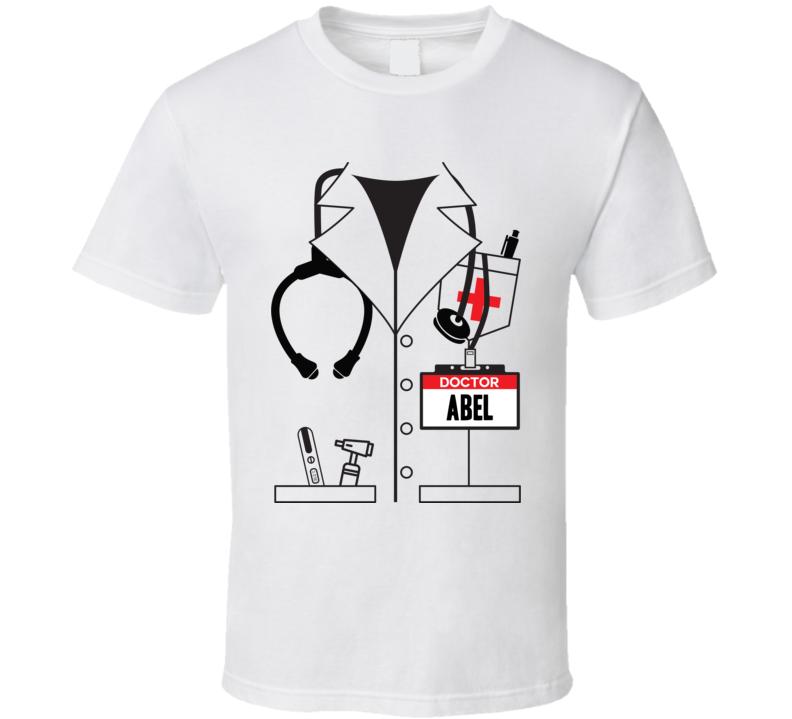 Doctor Abel Custom Name Halloween Costume T Shirt