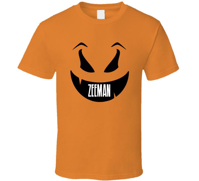 Zeeman Halloween.Zeeman Funny Scary Pumpkin Custom Halloween Name T Shirt