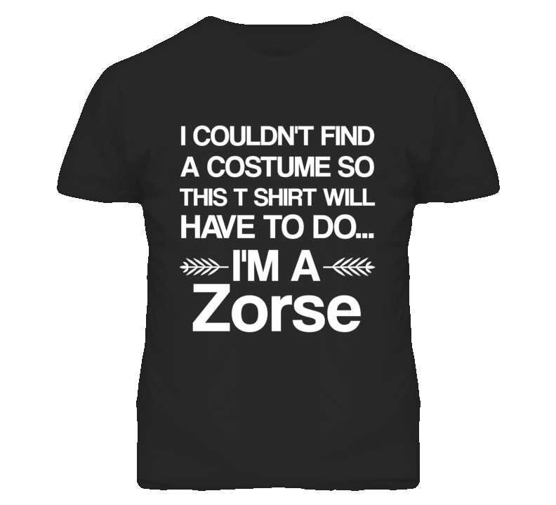 Zorse I'm A Animal Halloween T Shir