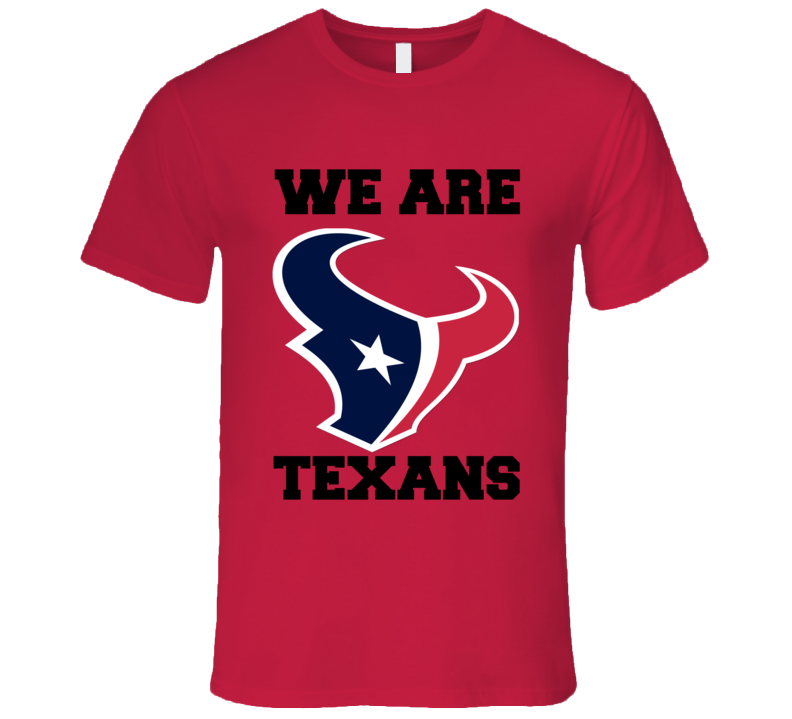 Houston Football Playoff We Are Nfl Funny T Shirt