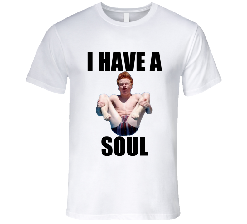 National Ginger Day I Have A Soul Funny T Shirt