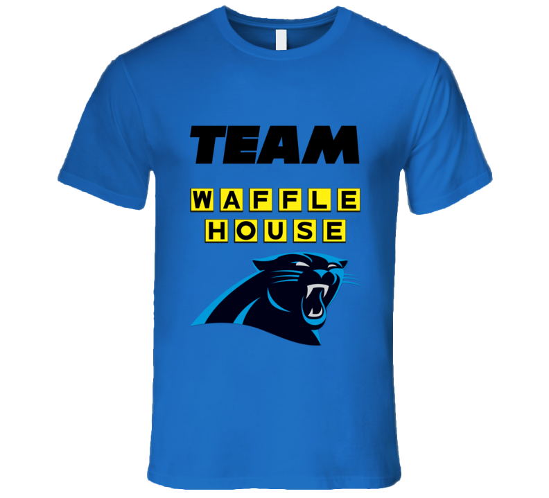 Carolina Football Nfl Playoffs Waffle House Funny T Shirt