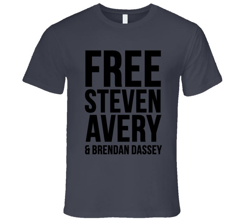 Making A Murderer Free Steven Avery And Brendan Dassey Funny T Shirt