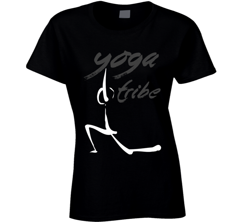 Yoga Tribe Gym Healthy Pose Warrior Funny T Shirt