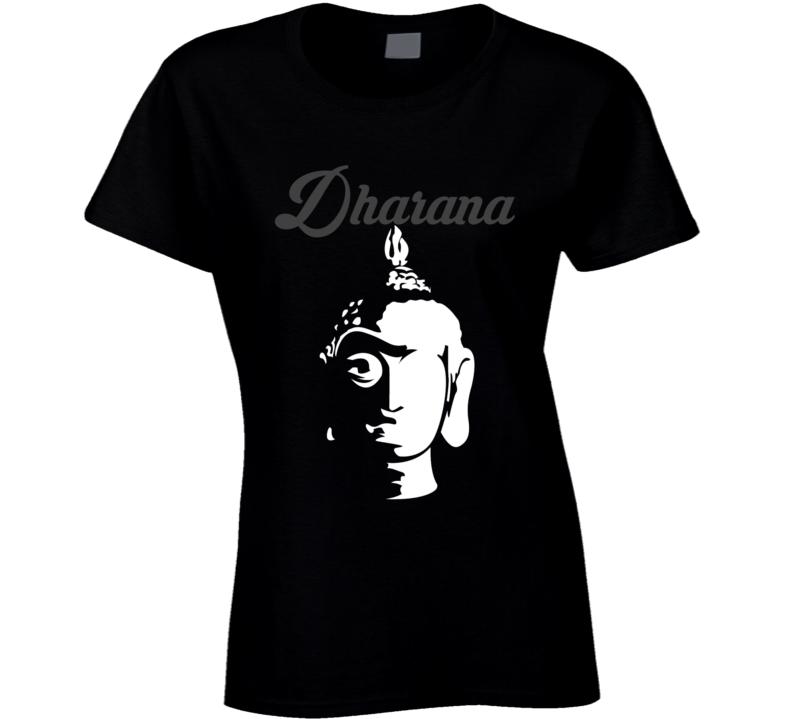 Yoga Dharana Yogi Health Fitness Funny T Shirt