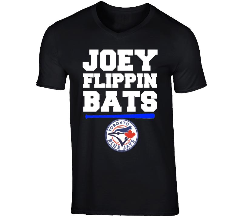 Toronto Baseball Joey Flippin Bats Fan Jose Bautista Funny T Shirt