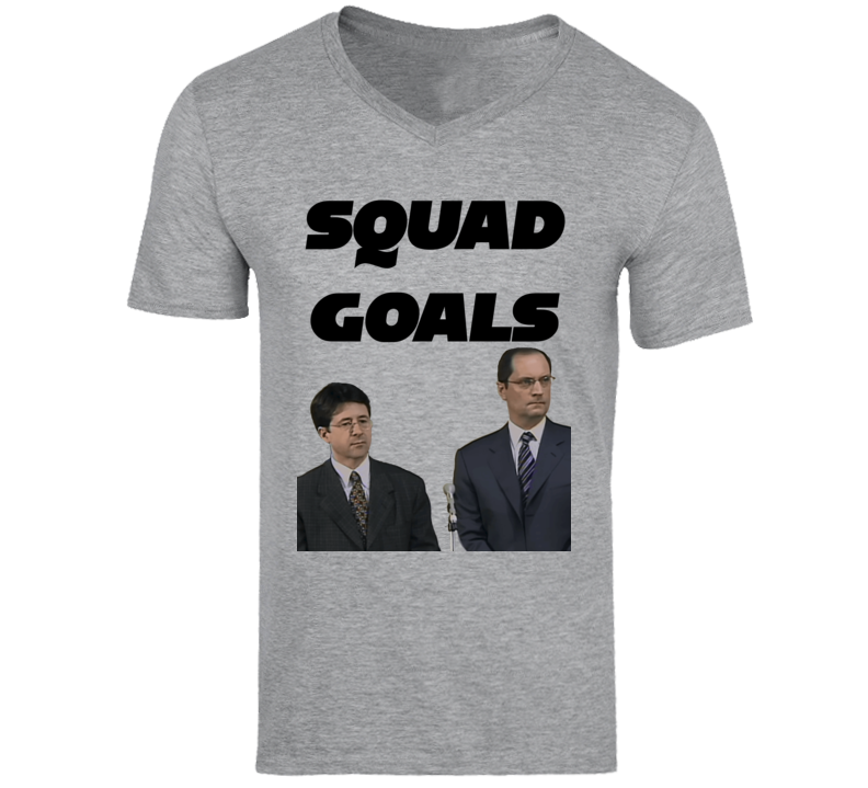 Making A Murderer Squad Goals Laywers Steven Avery Funny Tv T Shirt