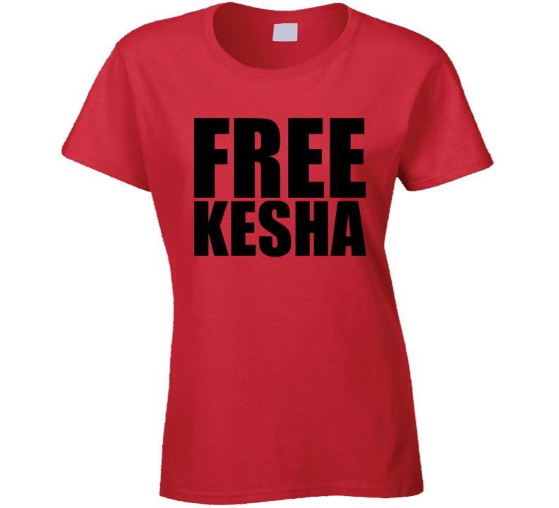 Free Kesha Drop Luke Music Trendy Funny T Shirt