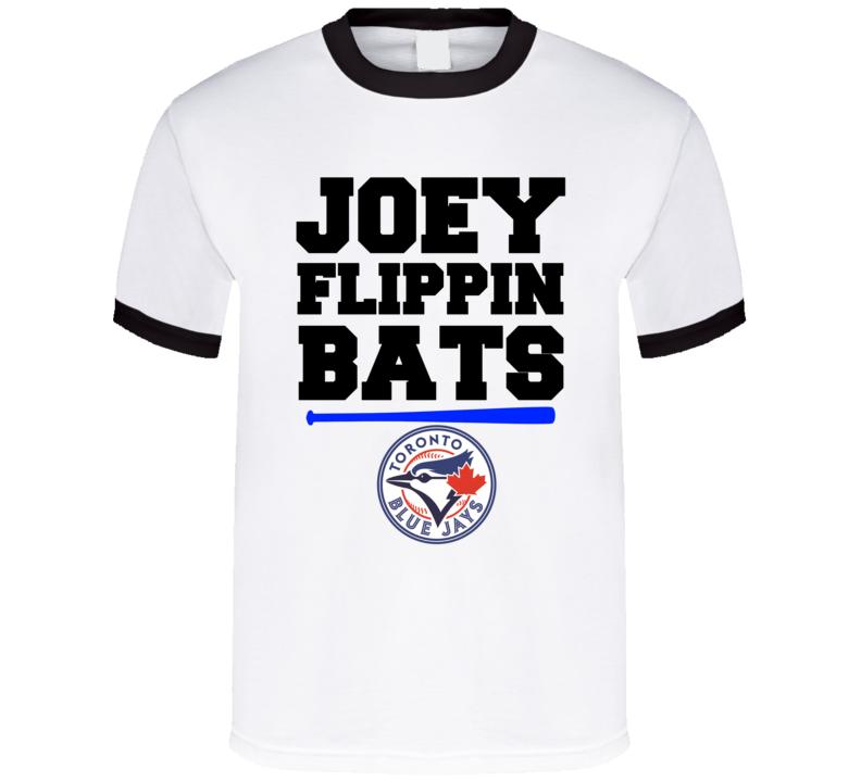 Toronto Baseball Joey Flippin Bats Jose Bautista Nbl Fan Funny T Shirt
